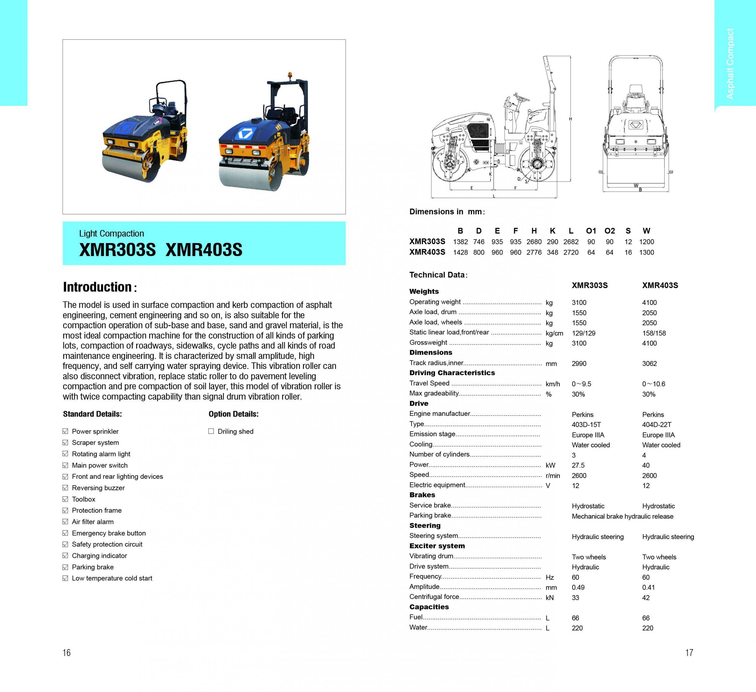 XMR303S XMR403S